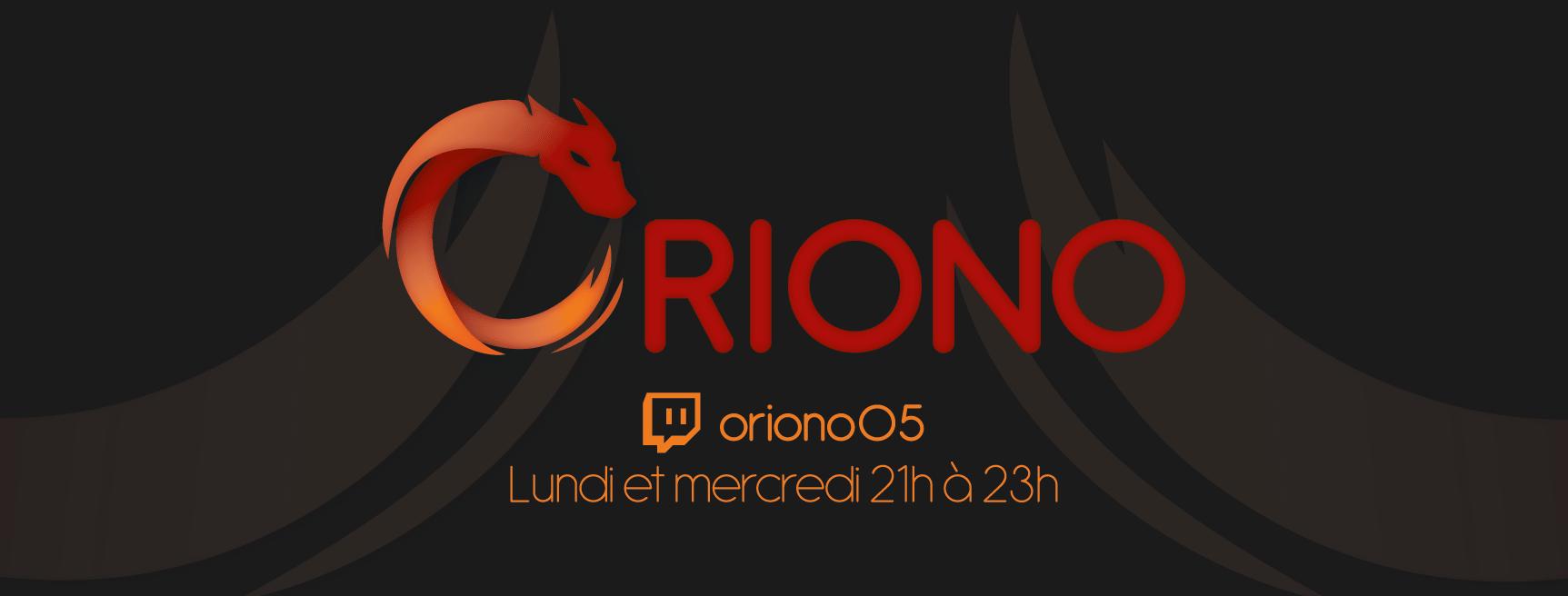 Photo de couverture Oriono