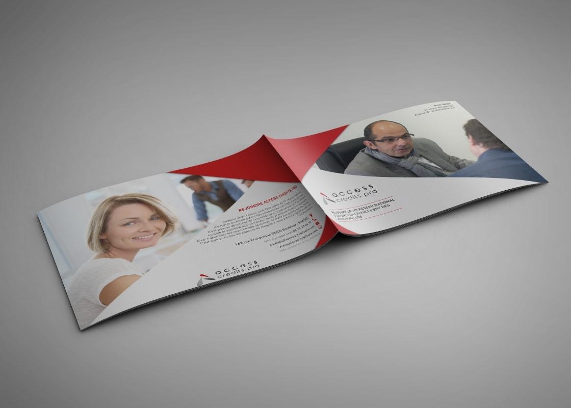 ACCESS CREDITS PRO plaquette, print Tatiana Rey