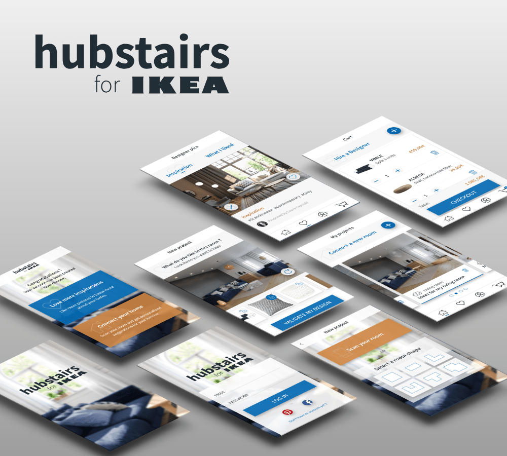 Hubstairs for IKEA app