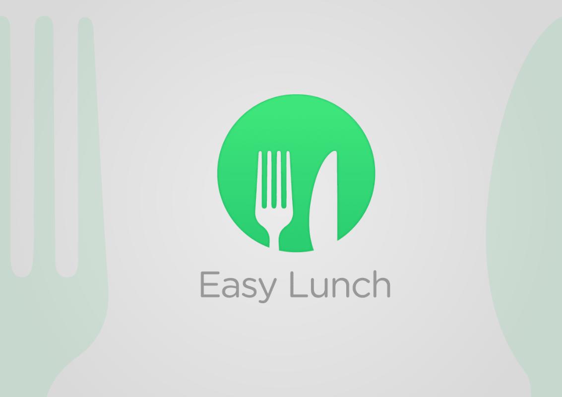 Easy Lunch logo proposition par Tatiana Rey