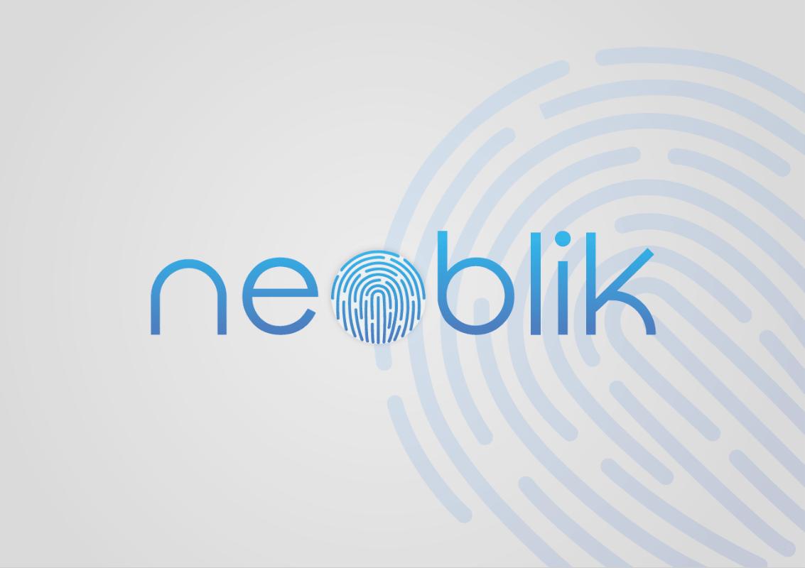 Logo Neoblik proposition, identité visuelle Tatiana Rey