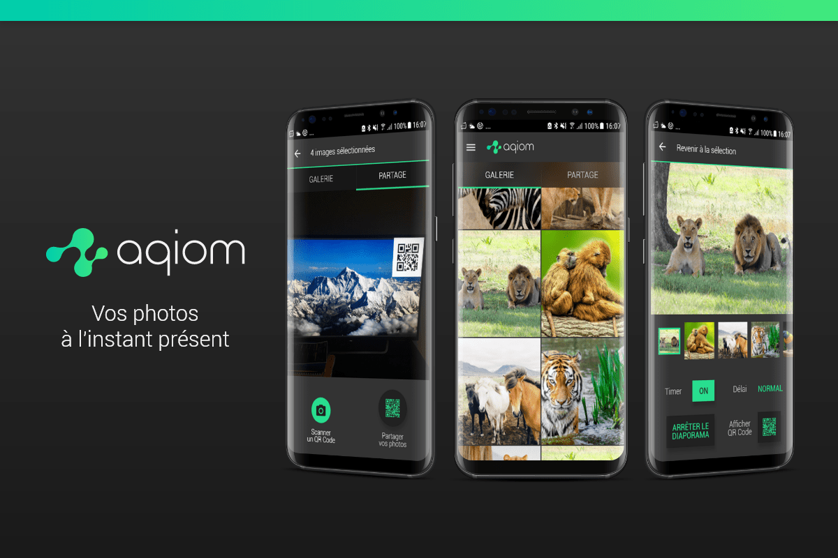 Aqiom app Android